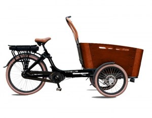 VOGUE E-BIKE BAKFIETS CARRY 7 NEXUS Rollerbrake MATT-BLACKBROWN_1